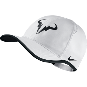 Nike Rafa Feather Light Cap White-Black